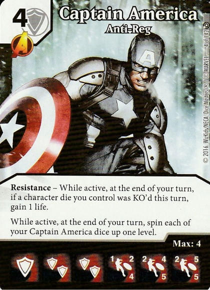 04 Captain America, Anti-Reg